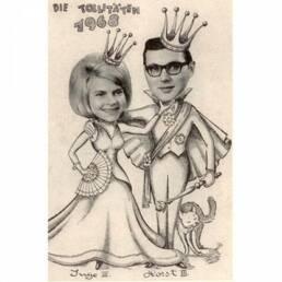 KG Treuchtlingen Prinzenpaar 1968