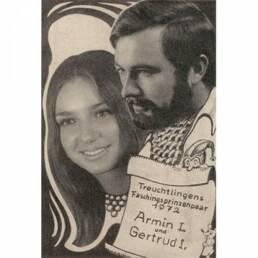 KG Treuchtlingen Prinzenpaar 1972