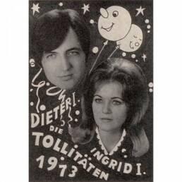 KG Treuchtlingen Prinzenpaar 1973