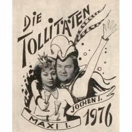 KG Treuchtlingen Prinzenpaar 1976