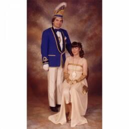 KG Treuchtlingen Prinzenpaar 1982