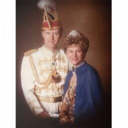 Prinzenpaar 1984 KG Treuchtlingen